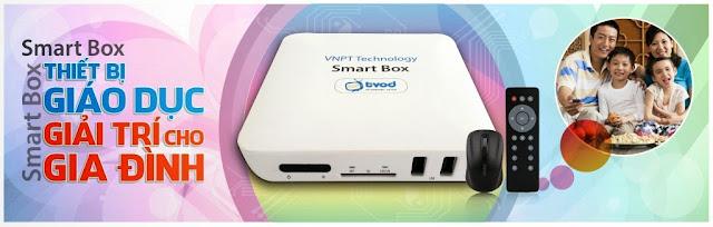 Đầu thu SmartBox VNPT - Xem truyền hình, phim HD miễn phí