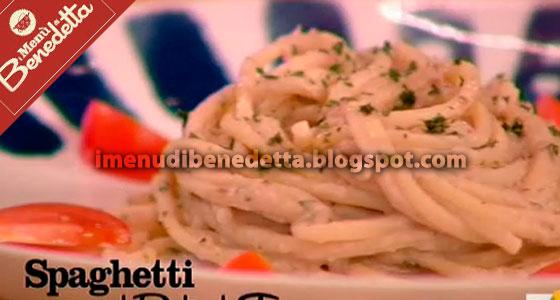Spaghetti al pesto di tonno Benedetta Parodi