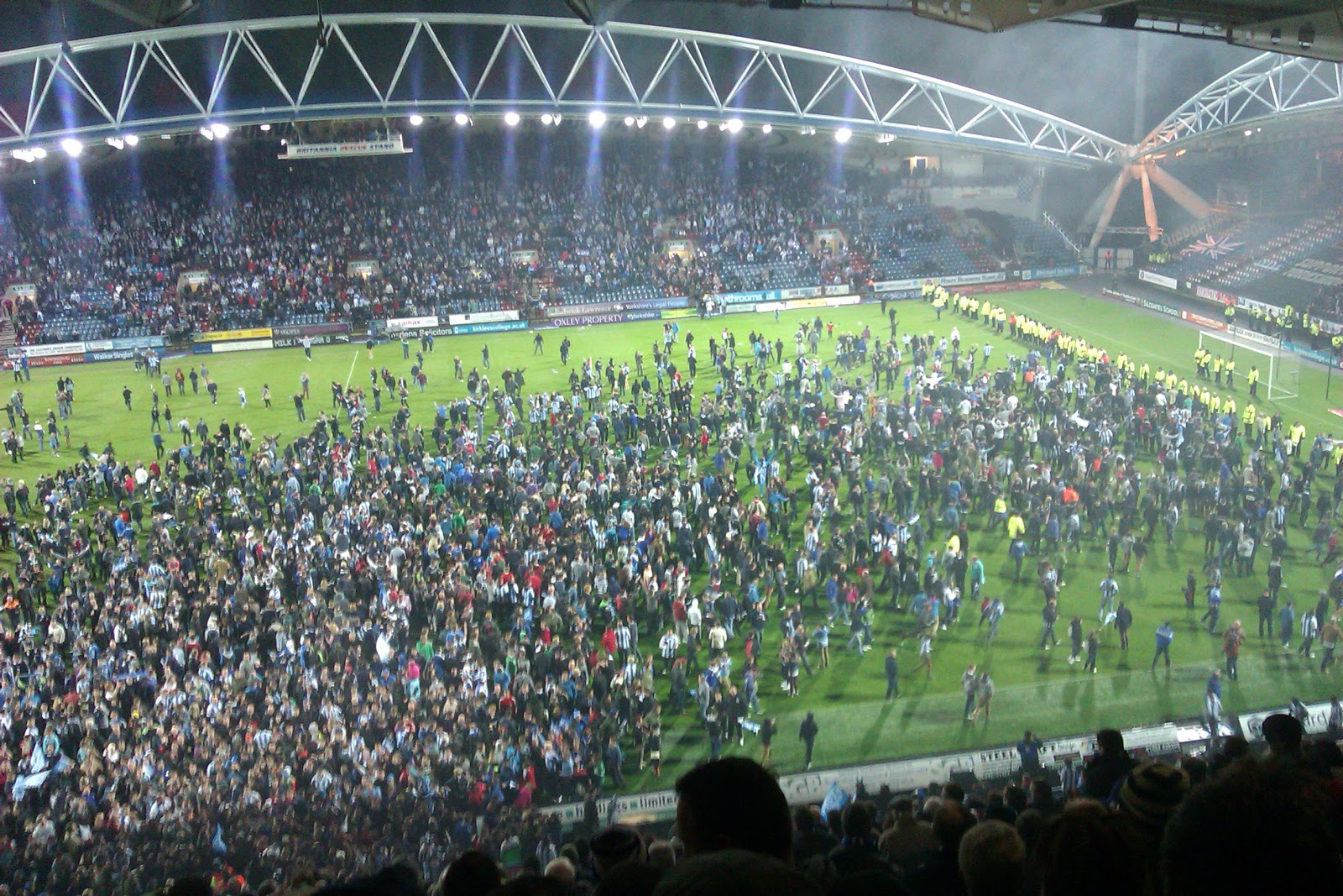 Northern football galpharm stadium huddersfield town pictures