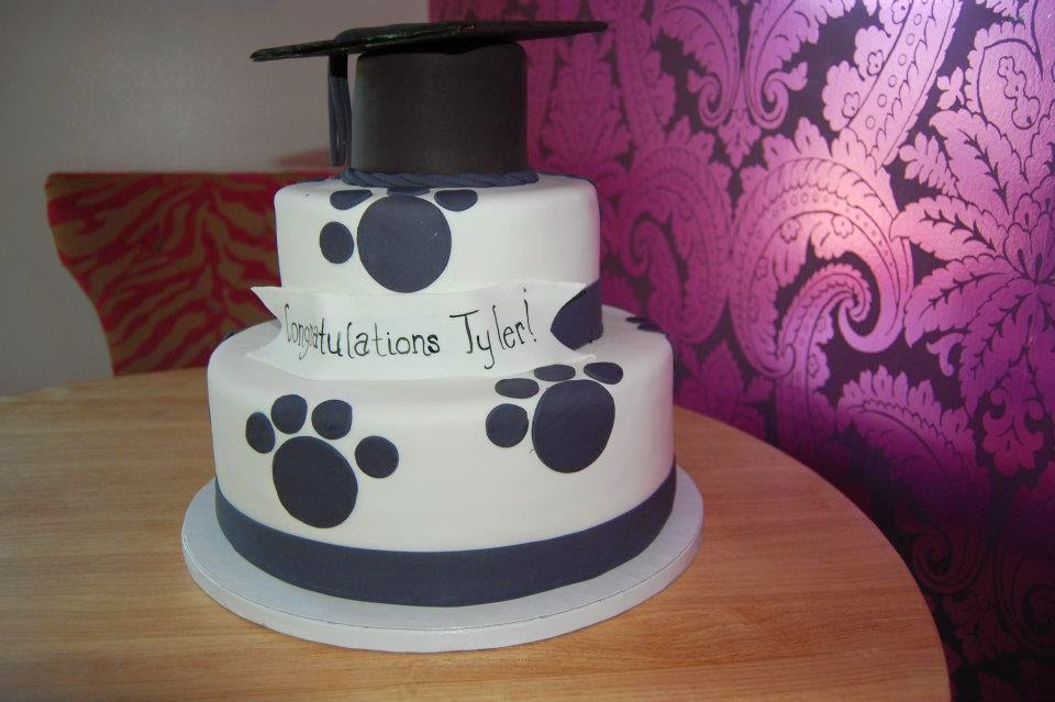 Cake Design For Matriculation : Bake My Day: The Cake Boutique : Party Theme: Graduation