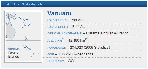 Peace Corps Vanuatu