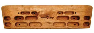 Metolius Wood Grips Climbing Training Fingerboard