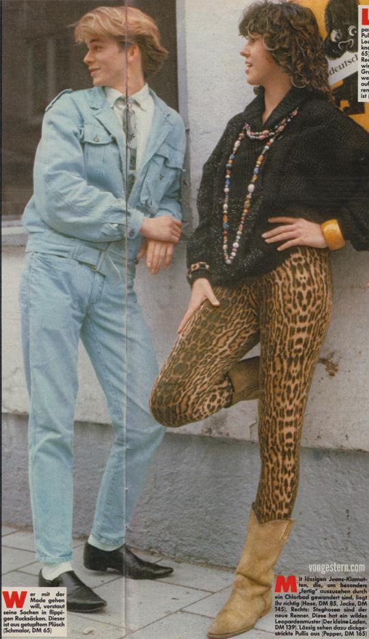 Fotos von Hustler Januar 1985