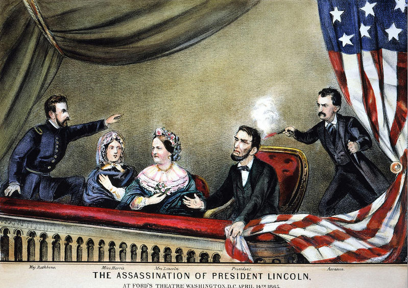 the assassination of president lincoln Not long after the assassination of president john f kennedy in 1963, the a list of seemingly amazing coincidences between the two men's lives appeared, and it has been widely and continuously reprinted and circulated ever since: abraham lincoln was elected to congress in 1846 john f kennedy.