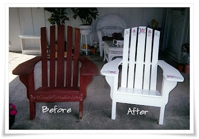Trash 2 Treasure Adirondack Chairs