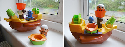 TOMY toys, TOMY Pirate Bath Ship, TOMY bath toys