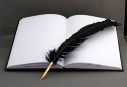 Wielding the quill pen ...