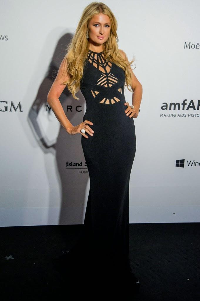 Hotel Heiress, Model, Actress @ Paris Hilton - 2015 amfAR Hong Kong gala