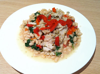 Southern Spoon Blog: Mediterranean Fish over Cannellini Beans