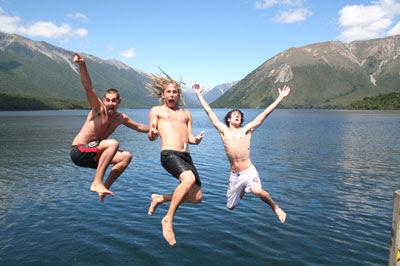 aventureux, heureux, vacances, les routards aventuriers, vacances en Nouvelle-Zélande, vacances pas cher