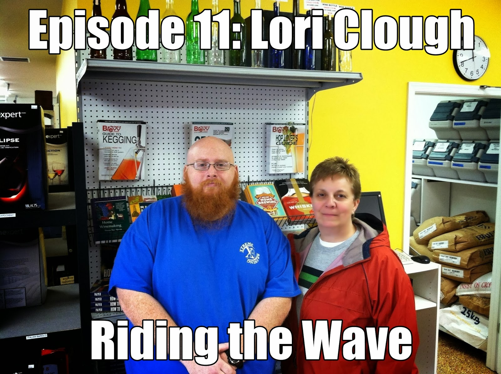 Lori Clough from 3rd Wave Brewing
