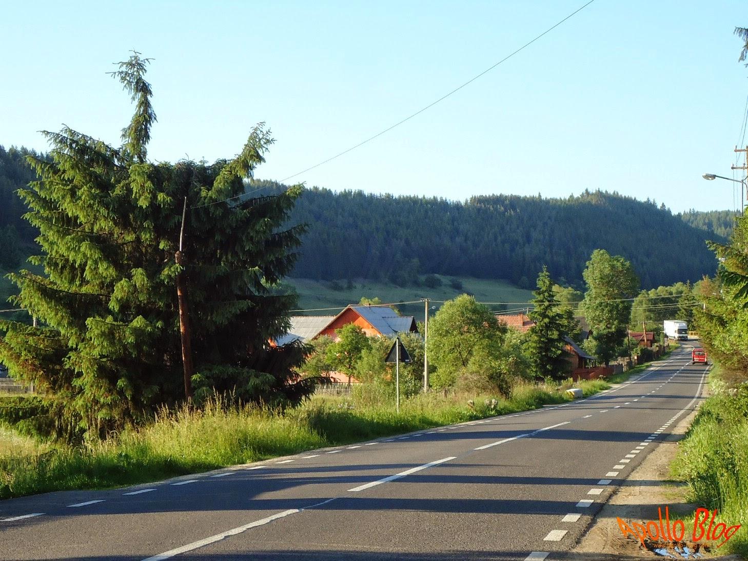 Drumul spre Borsec