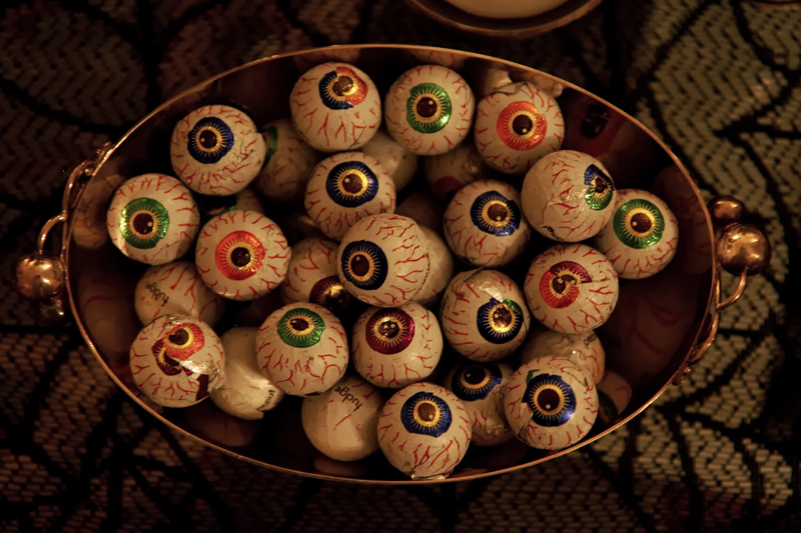 Chocolate Eyeballs; Hauntify Your House for Halloween