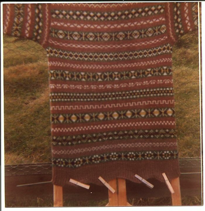 Fair Isle: Fair Isle Knitwear Photographed in the 1970's
