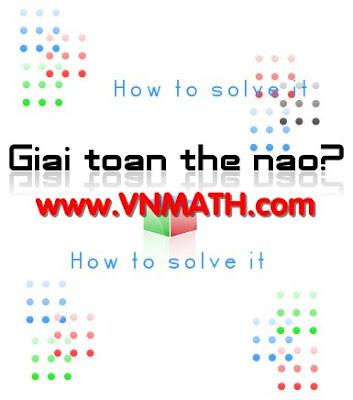 Giải toán như thế nào?