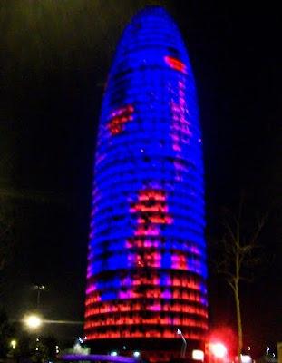 Torre Agbar - Barcelona - 26 Març 2011