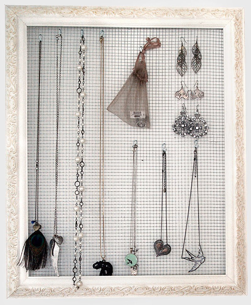 Diy Wire Frame Glasses : Jewelry Holder Tutorial Julie Ann Art
