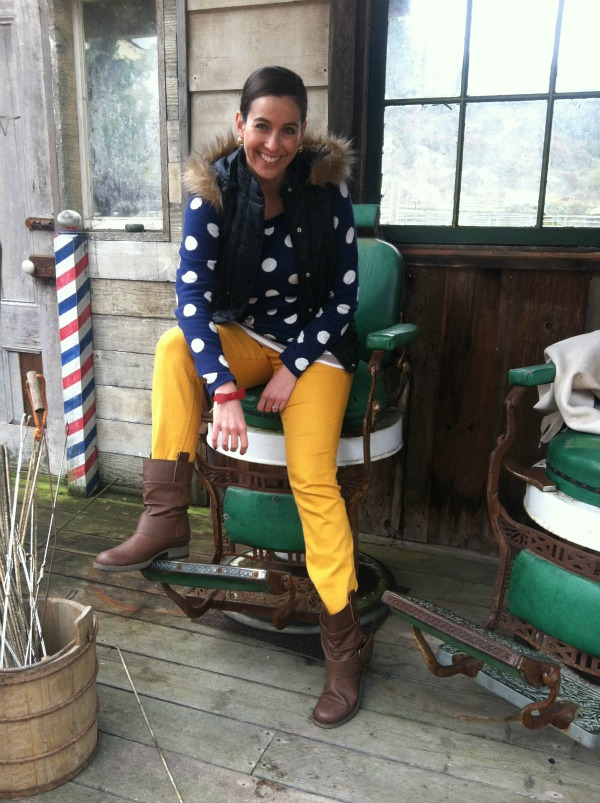 Polka Dots and Mustard; San Francisco Fashion and Beauty Blogger