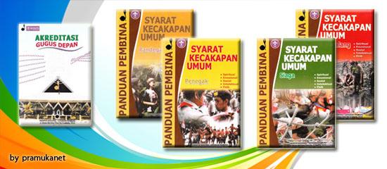 Buku Akreditasi Gudep dan Panduan SKU bagi Peserta Didik, buku wajib yang dimiliki oleh pembina/ Gugusdepan
