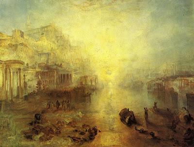 Turner 11775-1851 Ovide banni de Rome , 1838