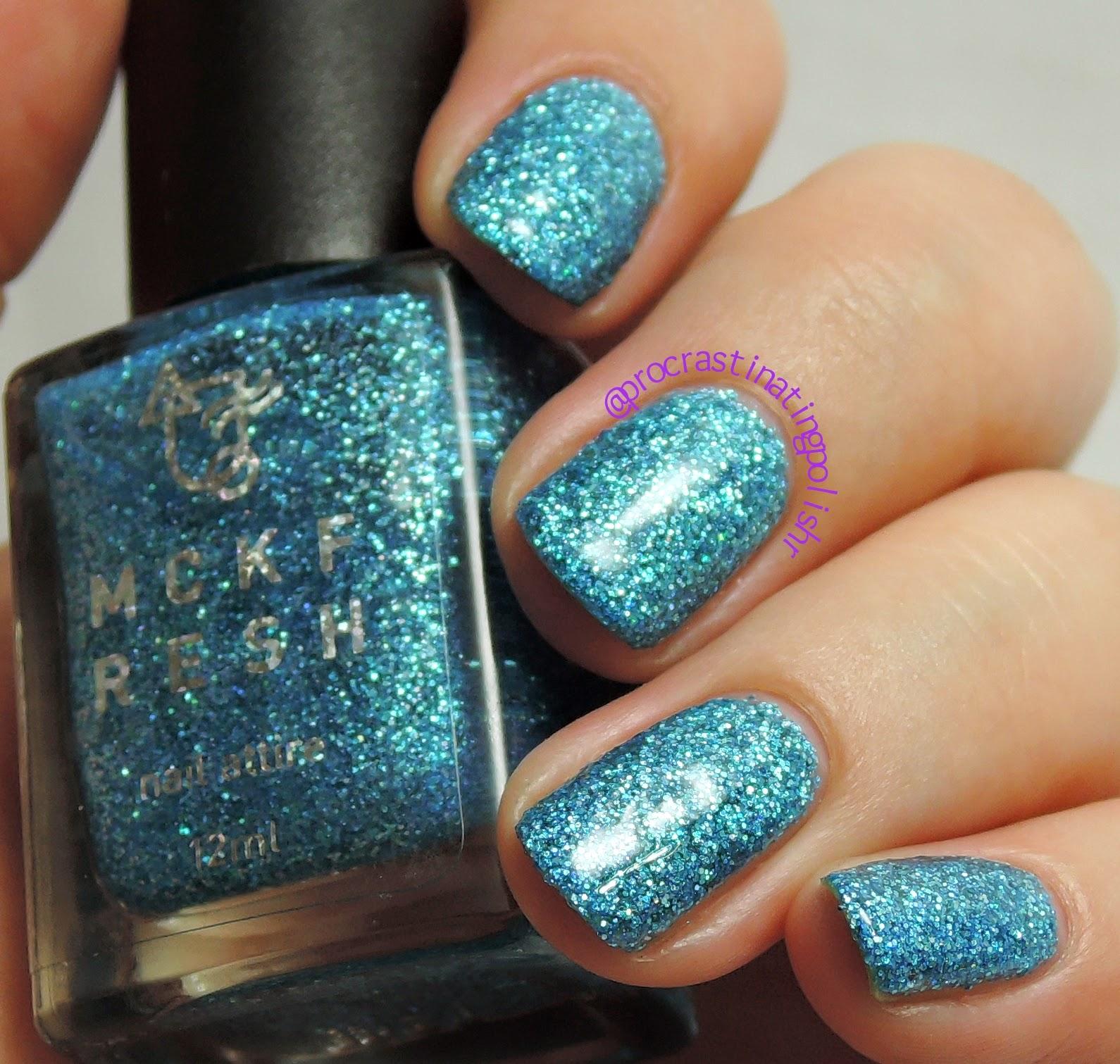 Mckfresh Nail Attire - Zircon Sky