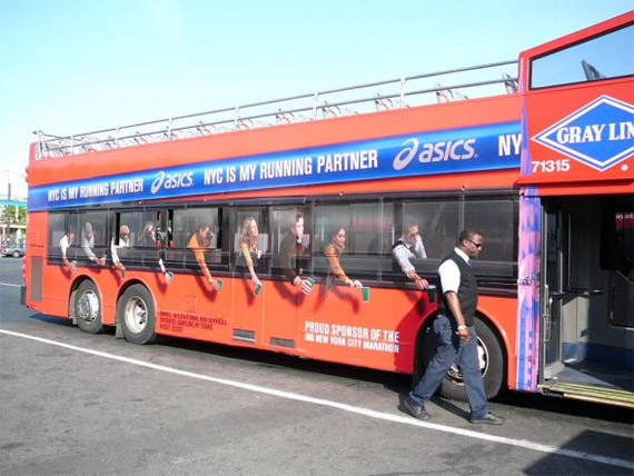 Asics Advertisement