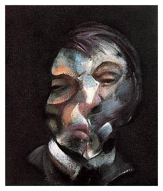 Francis bacon - Self-portrait,1971.