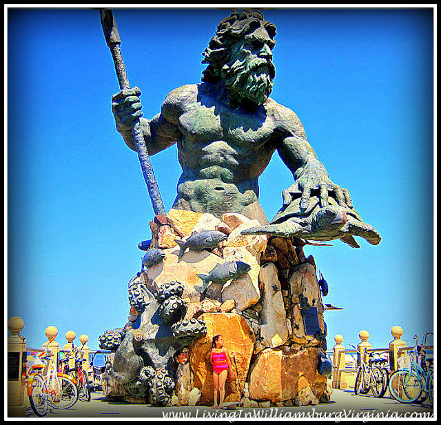Living In Williamsburg, Virginia: King Neptune, Neighbor ...