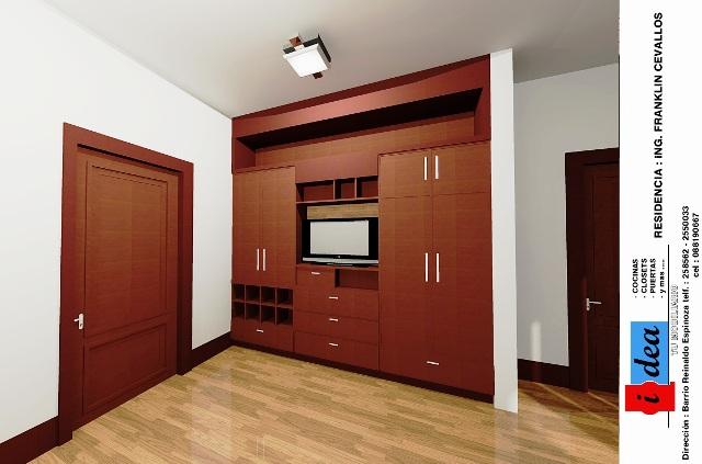 Ideatumobiliario dormitorios closets for Closet para recamaras modernas