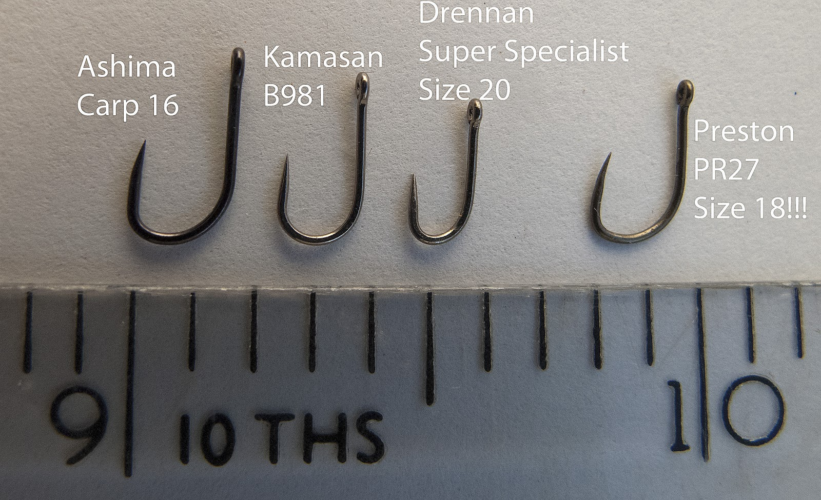 Fishing hook size chart uk driverlayer search engine for Fish hook sizes