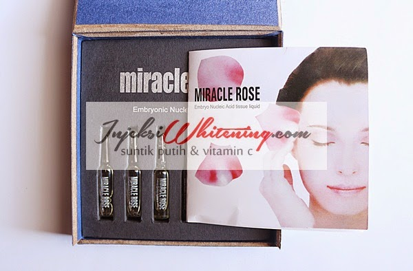 Miracle Rose Embryonic Nucleic Injection, Miracle Rose Injection, Miracle Rose Injeksi