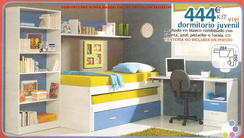 Muebles oferta kit dormitorios juveniles for Dormitorios juveniles economicos