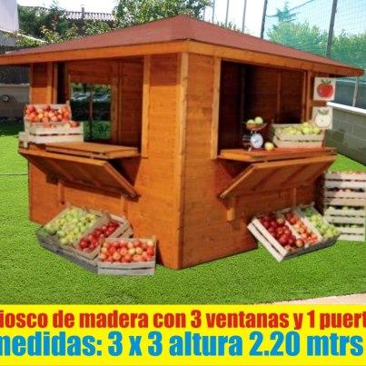 Kioscos para playas colegios negocios casas drywall peru for Fotos de kioscos de madera
