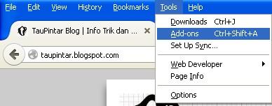 add-ons addblock plus http://taupintar.blogspot.com