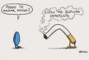 Humor depois deixar de fumar