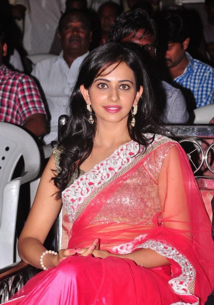 Rakul Preet Singh :Rakul Preet Singh's saree wardrobe malfunction silver blouse nip slip exposing hot xxx pics of bollywood actress rakul preet singh