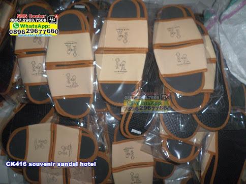 souvenir sandal hotel murah