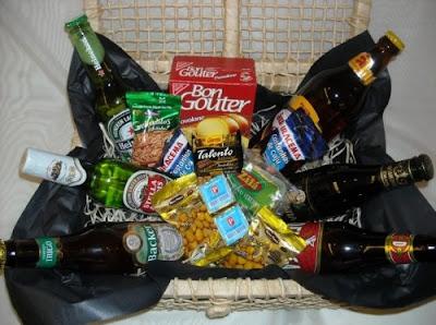 cesta para presentear seu pai