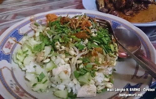 Kuliner Cirebon - Nasi Lengko H. Barno