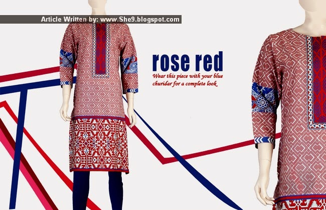Junaid Jamshed Kurti Collection