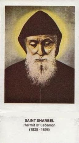"JULY 24 - Saint Charbel Makhlouf (Sharbel Makhluf), Priest - ""The saint drunk in God"""