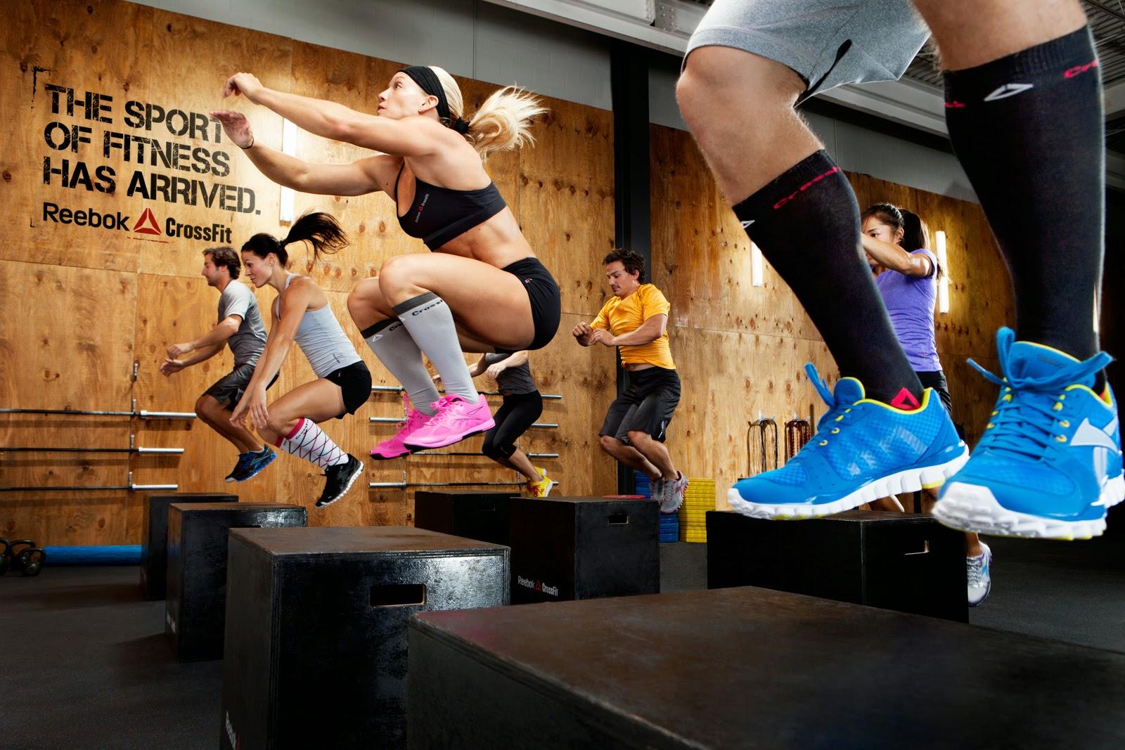 Los entrenamientos de CrossFit