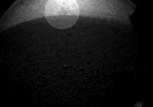 Марсоход засек движущийся объект на Марсе