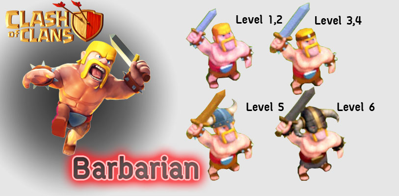 Barbarian ~ Clash Of Clans
