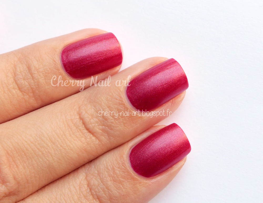 vernis lm cosmetic n°1 Organsini collection Satin