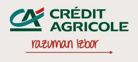 CREDITE AGRICOLE - zahvalnost za dobročinstvo
