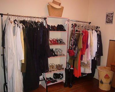 Forte t te sur talons hauts bienvenue dans mon dressing - Fabriquer dressing pas cher ...