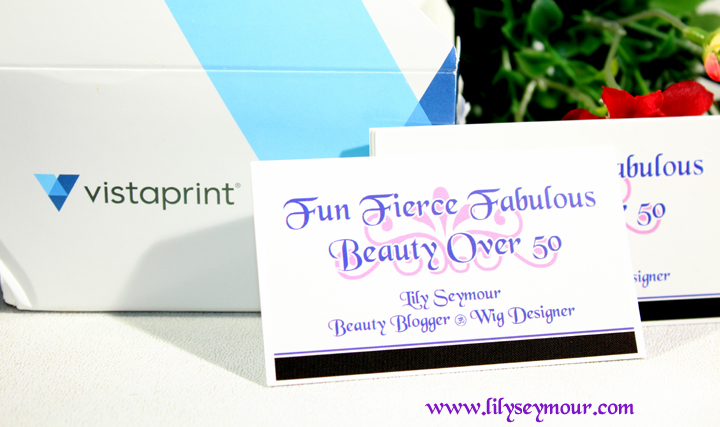Fun fierce fabulous beauty over 50 lifetstyle new business cards lifetstyle new business cards to match the theme of my blog social media sites colourmoves
