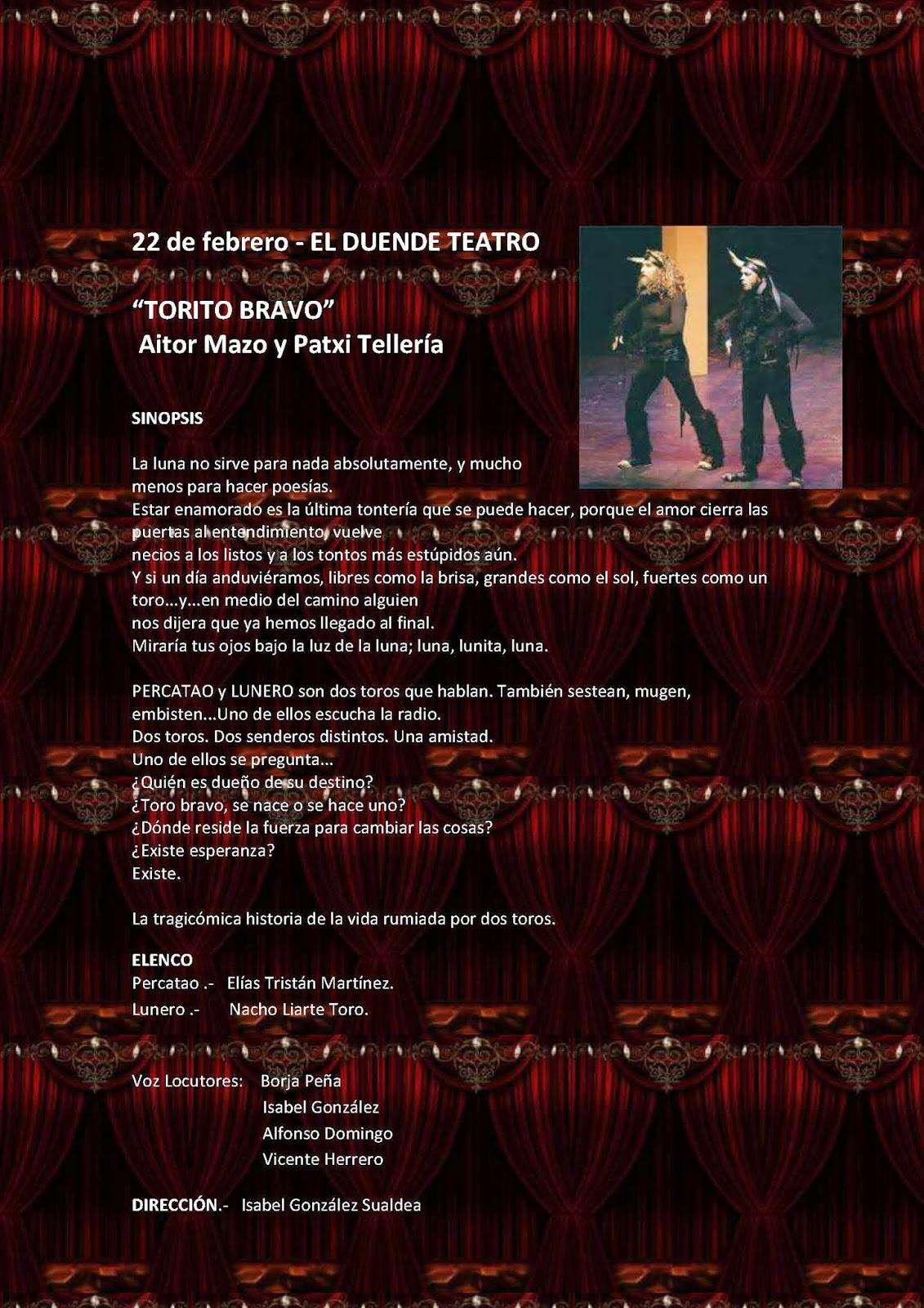 22/Febrero: XVII Certamen Nacional de teatro para aficionados. Béjar