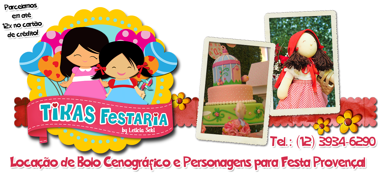 Blog da Tikas Festaria * Festas Infantis Personalizadas * Provençal e Clean *
